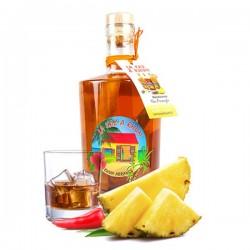 JECREEMACAVE Rhum arrangé Ananas Piment d'Espelette La Kas à Rhum