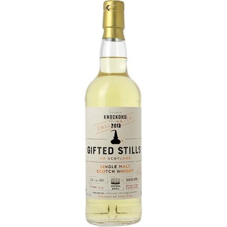 Whisky Gifted Stills Knockdhu 2012