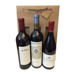Coffret 3 bouteilles : 3 Grands Rouges de la Vallée du Rhône