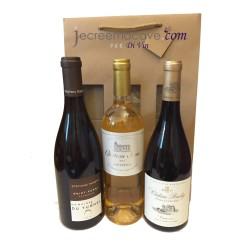 Coffret 3 bouteilles : 3 Grands Blancs de nos vignobles Français