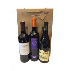 """Coffret 3 bouteilles : Les Vins du Luberon côté """"Rouge"""" !"""