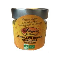 Toastinette lentilles corail curcuma