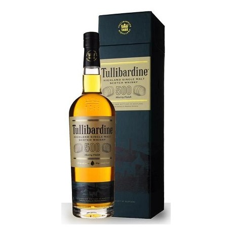 Whisky Tullibardine 500 Sherry
