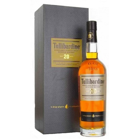 Whisky Tullibardine 20 ans d'âge