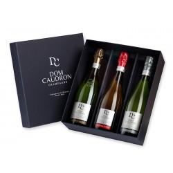 Dom Caudron - Coffret 3 bouteilles