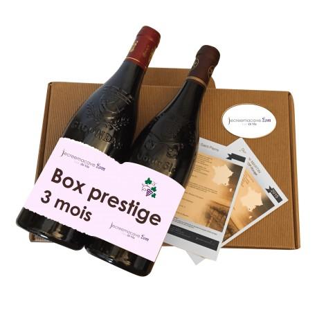 Abonnement 3 Mois Box Prestige
