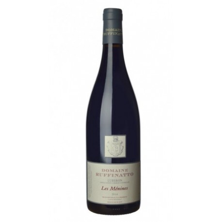AOP Luberon Domaine Ruffinatto Les Ménines Rouge jecreemacave