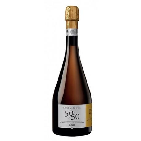 Champagne Dom Caudron Sublimité 50/50 Millésime 2008 - jecreemacave.com